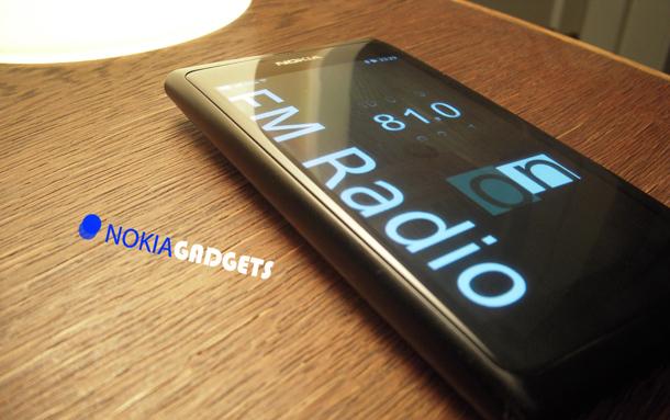FM радио за Nokia N9 74ecd98d34a9f068
