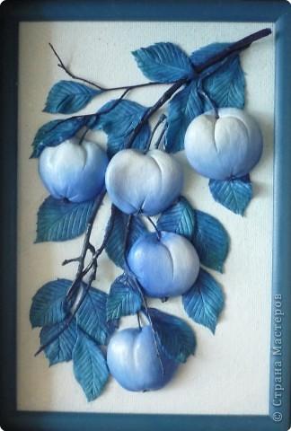 Лепим и расскрашиваем яблоки из теста P1130240