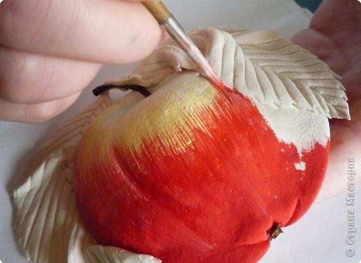 Лепим и расскрашиваем яблоки из теста P1140487