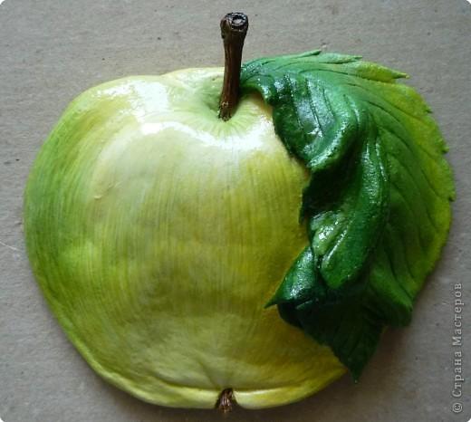 Лепим и расскрашиваем яблоки из теста P1140515
