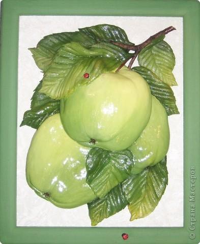 Лепим и расскрашиваем яблоки из теста SPA50006
