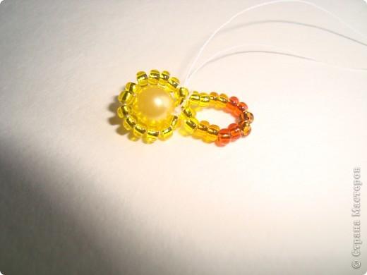 Сердце из бисерных цветов Dsc02605
