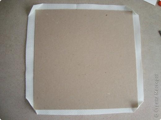 Сердце из бисерных цветов Dsc02625