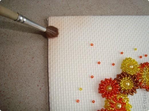 Сердце из бисерных цветов Dsc02642_1