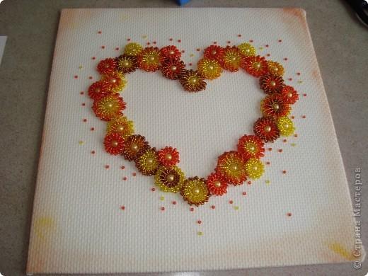 Сердце из бисерных цветов Dsc02644_1