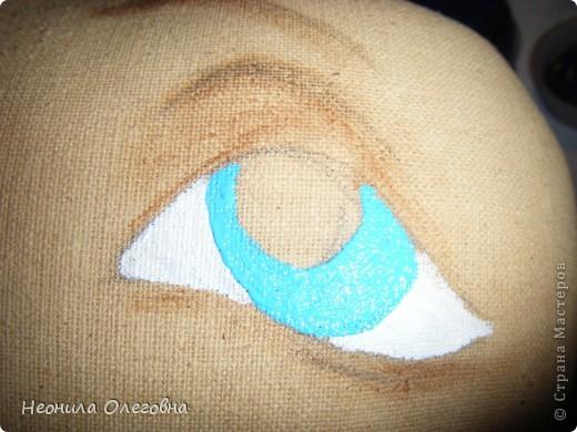 МК рисуем лицо текстильной кукле... Dscf7046