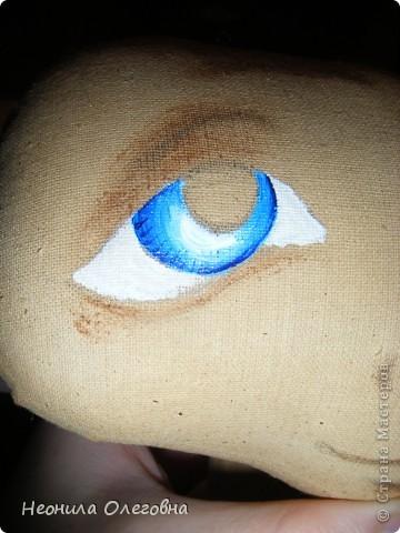 МК рисуем лицо текстильной кукле... Dscf7048