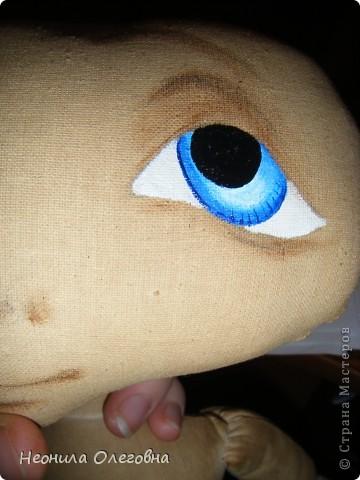 МК рисуем лицо текстильной кукле... Dscf7049