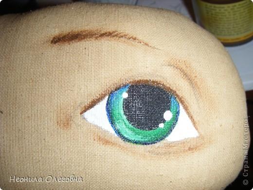 МК рисуем лицо текстильной кукле... Dscf7055