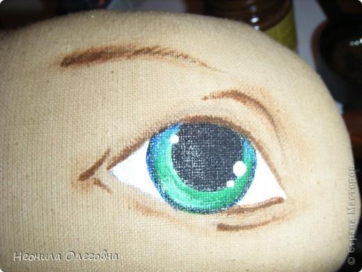 МК рисуем лицо текстильной кукле... Dscf7056