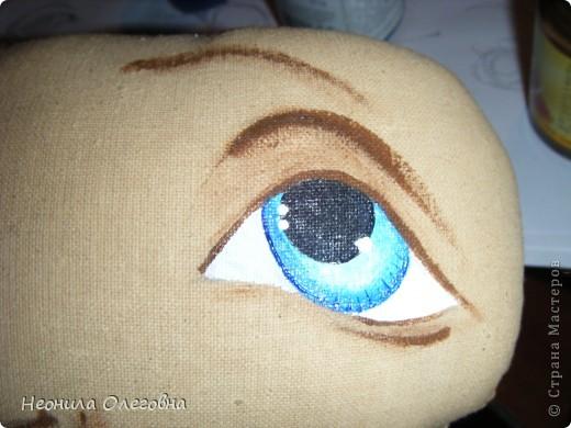 МК рисуем лицо текстильной кукле... Dscf7068