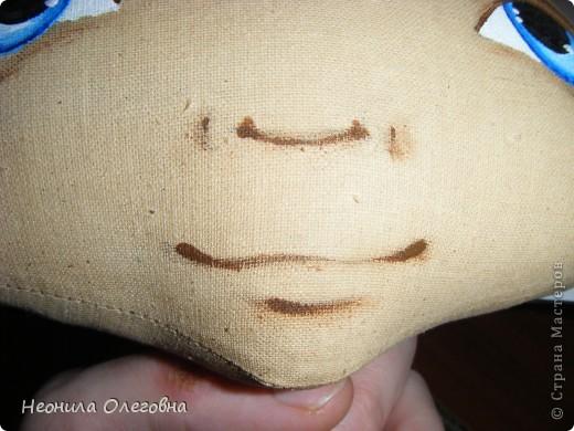 МК рисуем лицо текстильной кукле... Dscf7069
