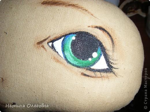 МК рисуем лицо текстильной кукле... Dscf7075