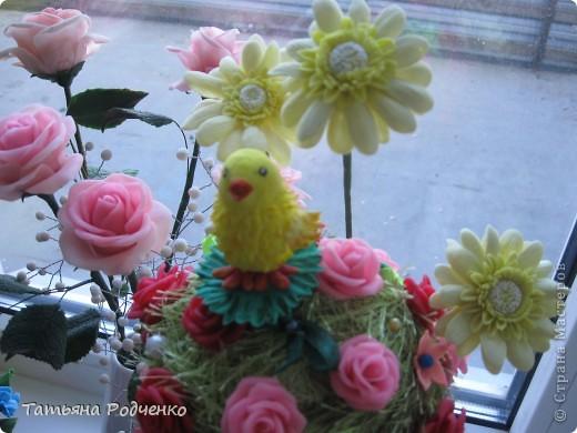 Лепка,декор из пластики ,теста и т.п к Пасхе Farfor_066
