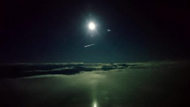 Mysterious bright red light flies over Dunedin, New Zealand baffling stargazers Mysterious-light-dunedin-new-zealand-space-junk