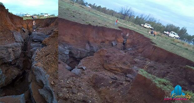 Massive Crack In The Earth Opens Up In Northern Cape, South Africa  Earth-crack-south-africa-3