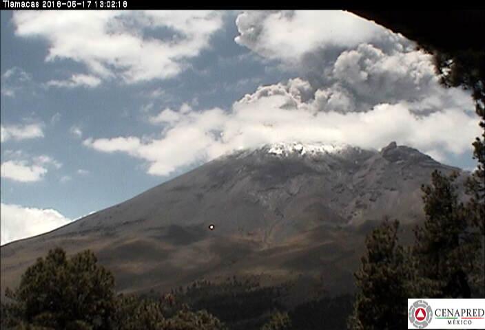 Volcanic eruption update: Kilauea volcano (Hawaii), Popocatepetl volcano (Mexico) and Sinabung volcano (Indonesia) Popocatepetl-eruption-may-17-2018