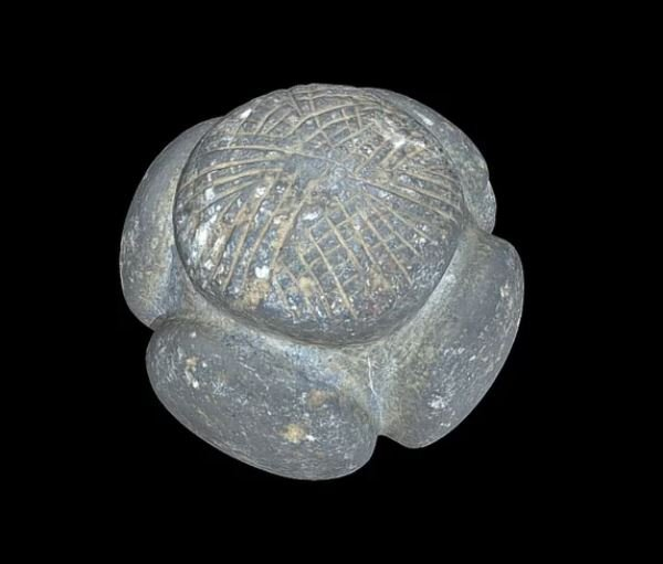 5000-year-old carved stone balls continue to baffle archaeologists more than 200 years after they were first discovered Mysterious-stone-balls-3