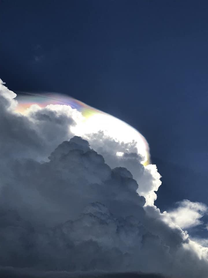 Gigantic iridescent cumulonimbus cloud over Merida, Mexico! WOW! Iridescent-cumulonimbus-cloud-merida-mexico-2