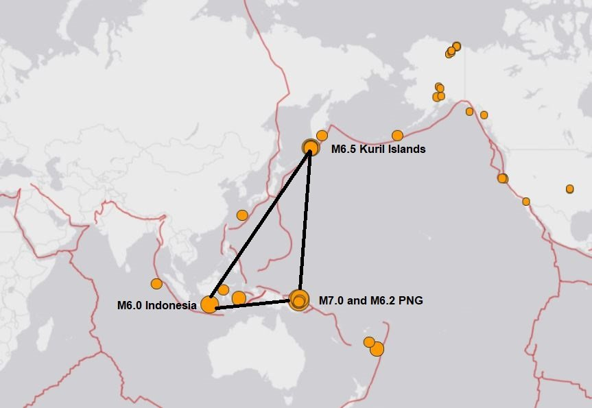 666: 3 earthquakes larger than M6.0 (M6.0, M6.2, M6.5) and a M7.0 shake the Ring of Fire within 5 hours 3-M6.0-earthquakes-and-a-M7.0-earthquake-hit-the-ring-of-fire-october-10-2018