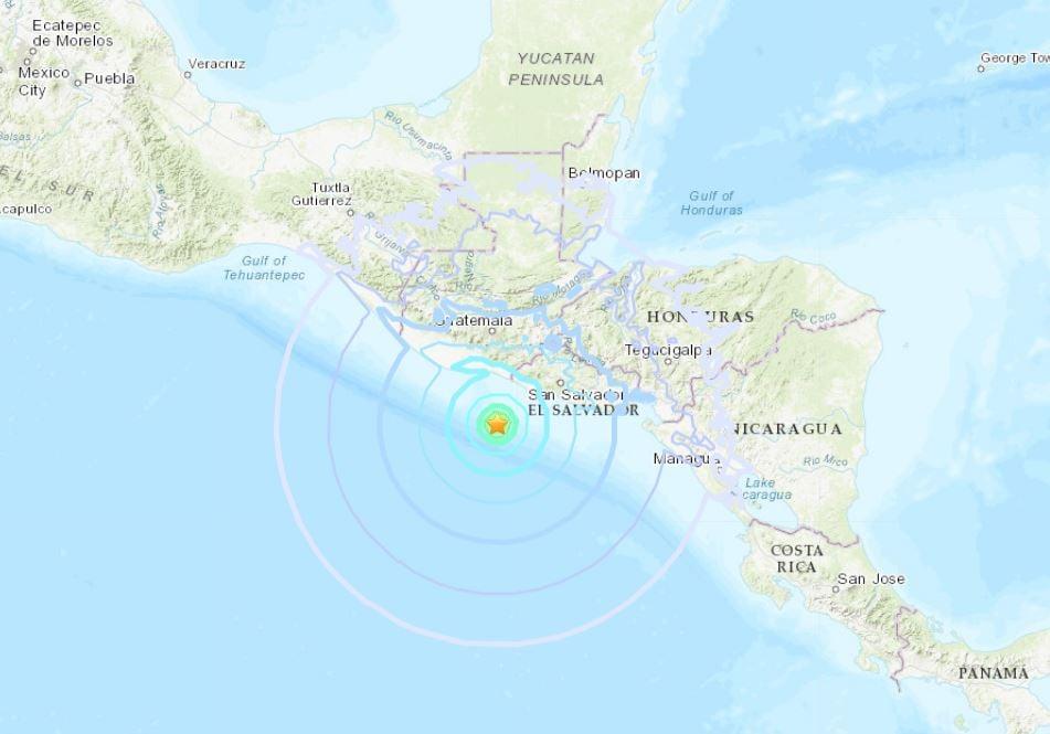 The Big Shaking Continues: M6.1 Hits El Salvador; M6.3 Strikes the Drake Passage M6.1-earthquake-el-salvador-october-28-2018