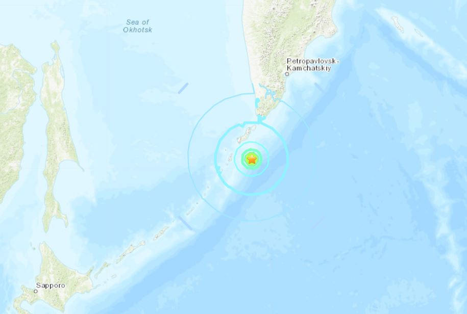 666: 3 earthquakes larger than M6.0 (M6.0, M6.2, M6.5) and a M7.0 shake the Ring of Fire within 5 hours M6.5-earthquake-russia-october-10-2018