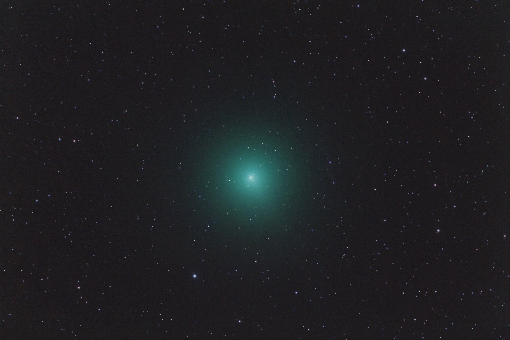 Comet 46P/Wirtanen still has a couple of weeks before closest approach (Dec 16th) BUT is already as big as a full Moon Comet-wirtanen-1