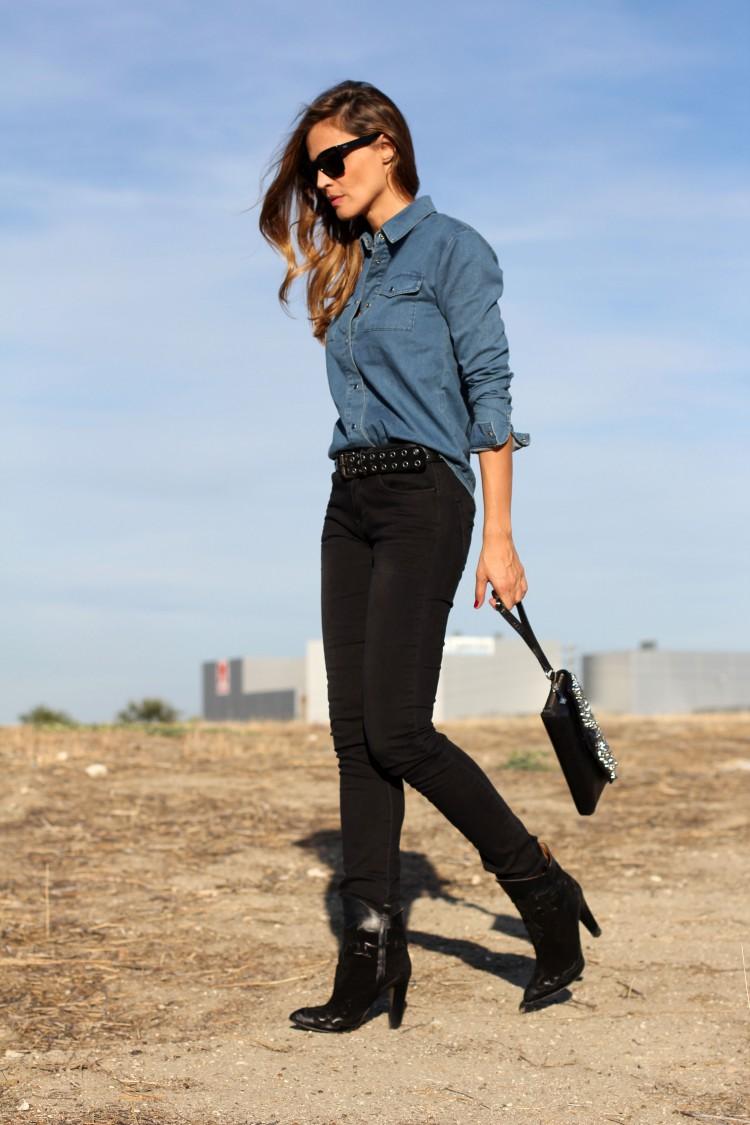 Looks diarios de bloggers y demás chicas que cuelgan en internet. - Página 16 Camisa-vaquera-lady-addict71-750x1125