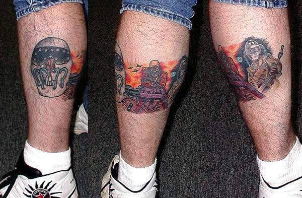 Métal et Tatouage... - Page 5 Megadeth-tattoo