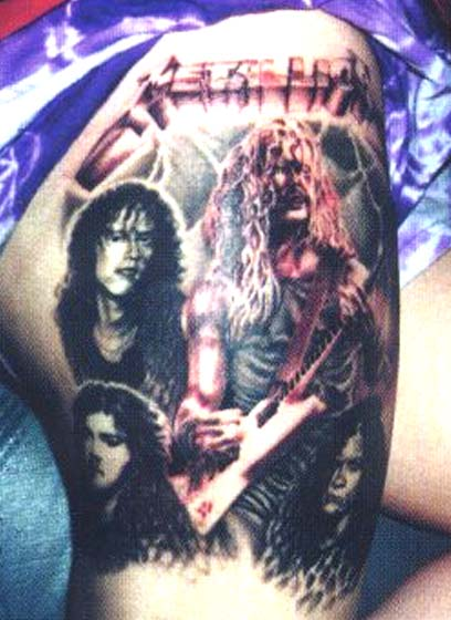Métal et Tatouage... - Page 5 Metallica-tattoo