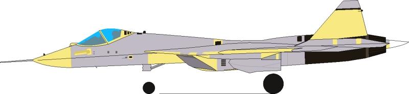 المقاتلة الروسية  T-50 الروبوت الطائر : مقاتلة الجيل الخامس  Pak-fa-2010-01