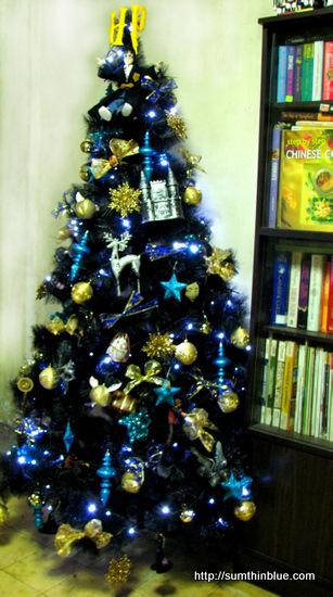 sapin, décos Noël HP Harry-xmas