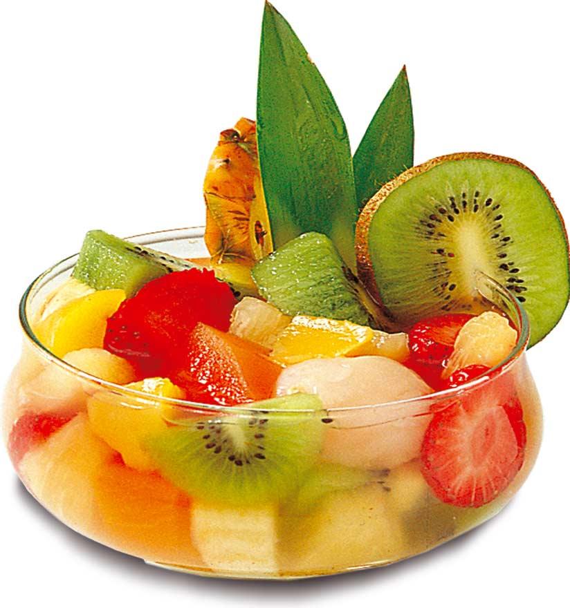 Lundi 15 septembre Salade-de-fruits