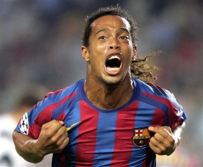 Jugador más feo Ronaldinho-player-of-the-year