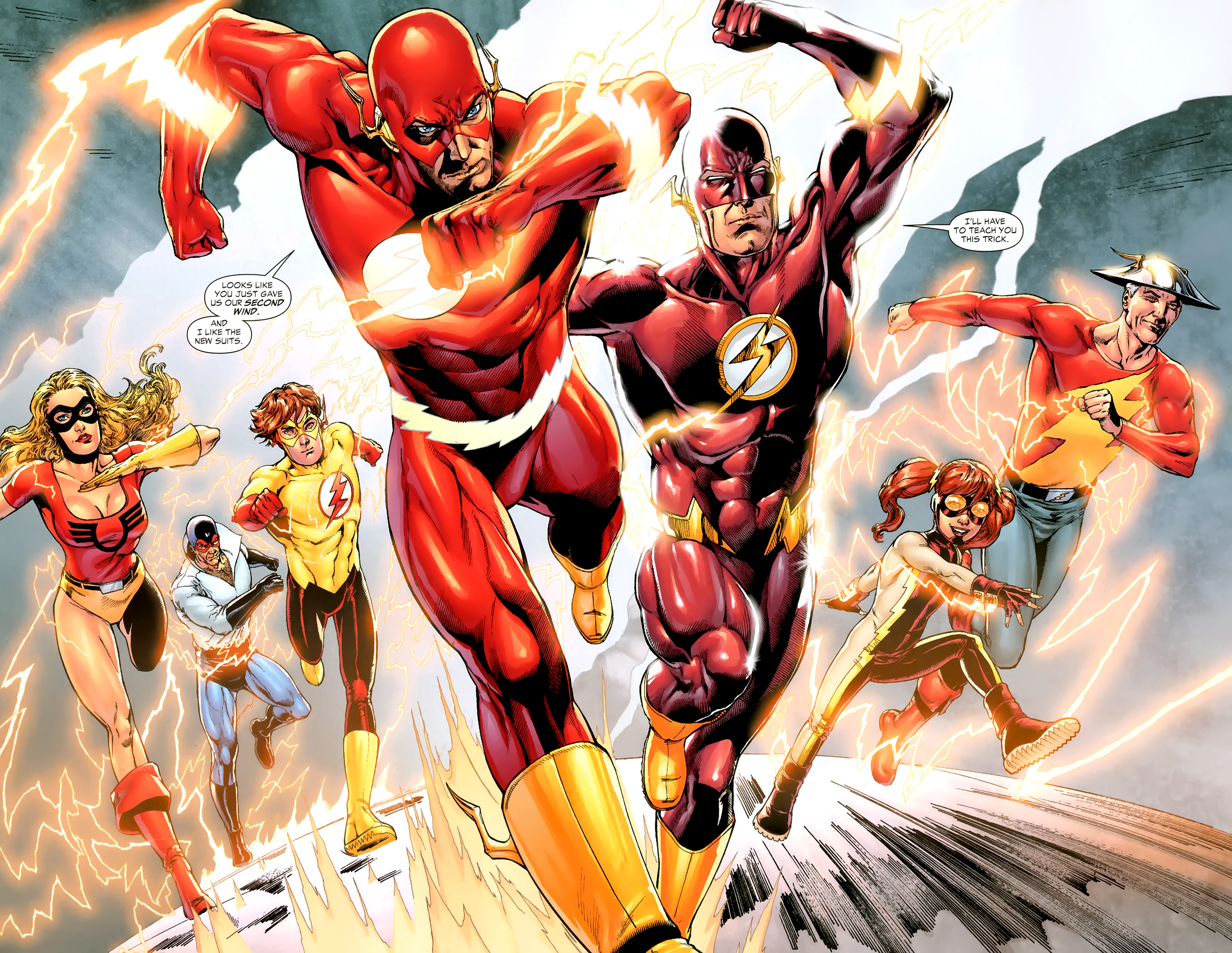 [ZOOM] Flash Family et Speed Force Flash_family_002