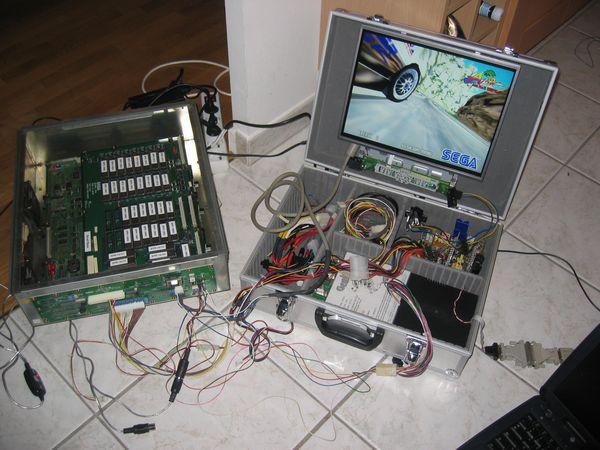 [WIP] Projet supergun écran intégré Adapter22