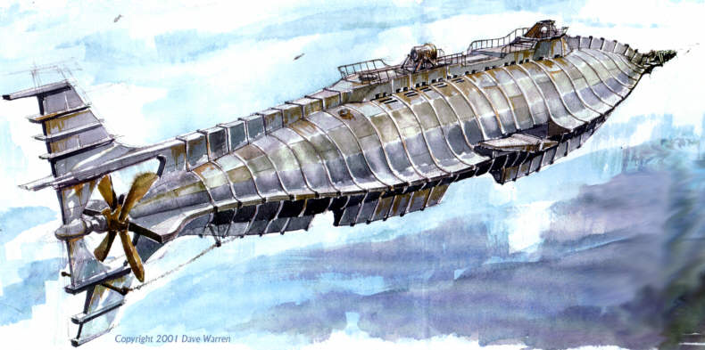El invencible, The Nautilus. Nautilus