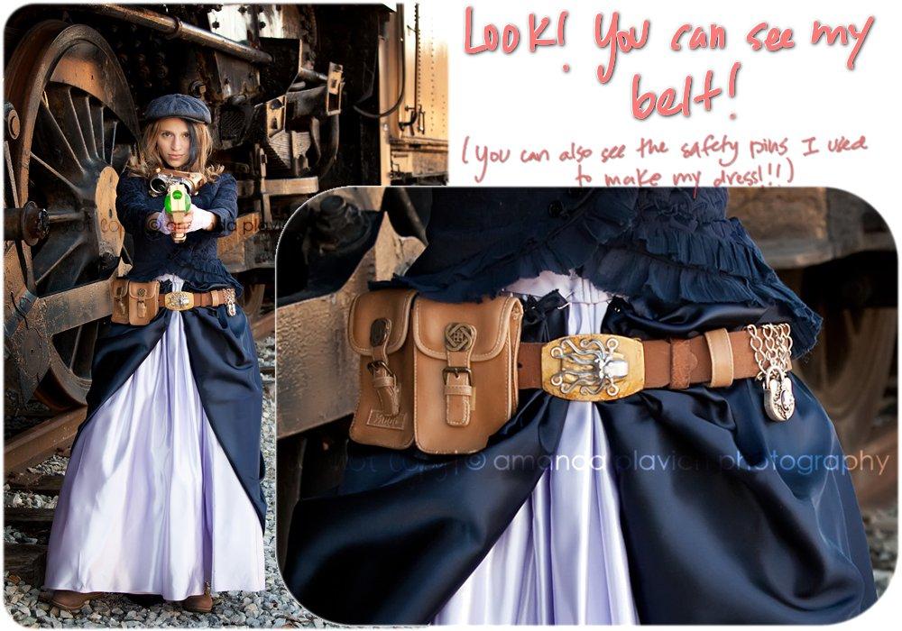 [Steampunk] faire une ceinture steampunk Belt5