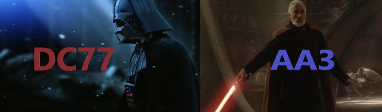 SS - Darth Tyranus (ArkhamAsylum3) vs Darth Vader (DC77) Banner10