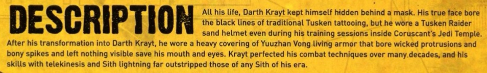 SS - The Tyrannical Ten - Darth Krayt (Azronger) vs Darth Tyranus (ArkhamAsylum3) - Page 6 Krayt_25