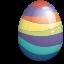 Decorazioni per la pasqua! Easter_egg_purple-64