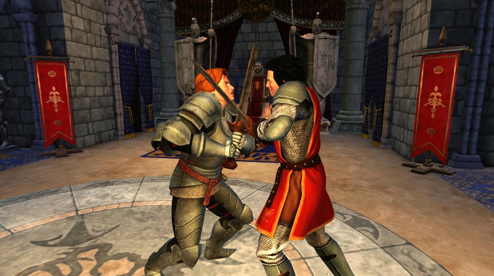 Los Sims Medieval TheSimsMedieval_swordfight