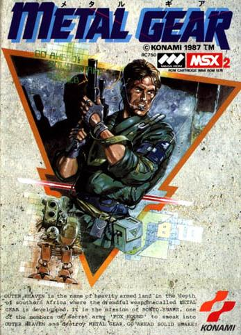 Paderetrogame Mars 19 : Metal Gear (MSX) Rc750j1f