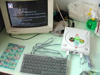 Dreamcast - Transforme o Dreamcast em um mini pc simples com linux Linux
