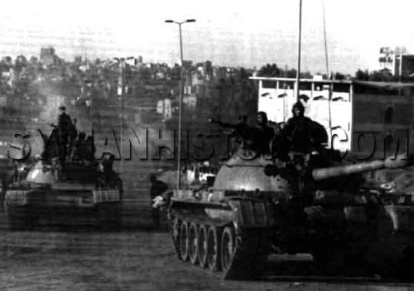 المشاركه العسكريه للعراق في الحرب الاهليه اللبنانيه  Show_651