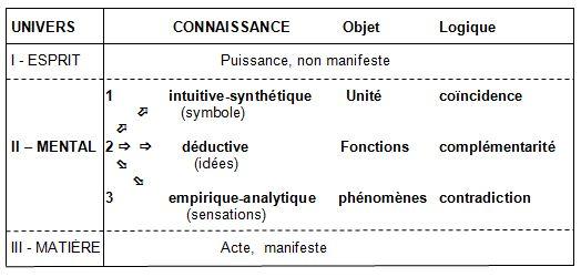 Philosophie holistique et modèle systémique Nivcon