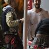 [Vie privée] 14.06.2014  Astro Burger  West Hollywood Los Angeles Etats-Unis Bill & Tom Kaulitz  0MSetEN2