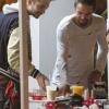 [Vie privée] 14.06.2014  Astro Burger  West Hollywood Los Angeles Etats-Unis Bill & Tom Kaulitz  8FrlwRDu
