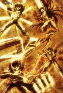Saint Seiya Omega Opening AasQsCkk