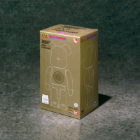 Chogokin BE@RBRICK Junikyu Gold Cloth ver. 200% Size Abyuzi55